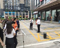 参与光浩国际中心消防演练